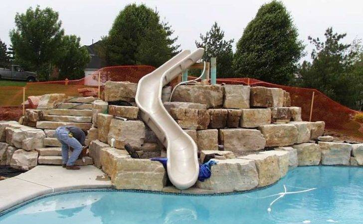 Ground Pools Clearance Swimming Pool Slides Above