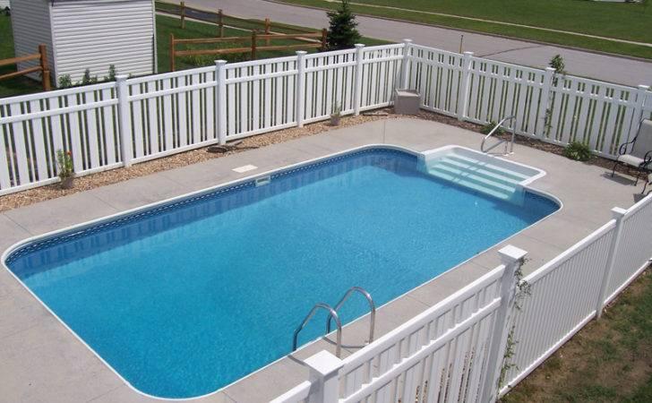 Ground Swimming Pool Sizes Custom Rectangle Inground