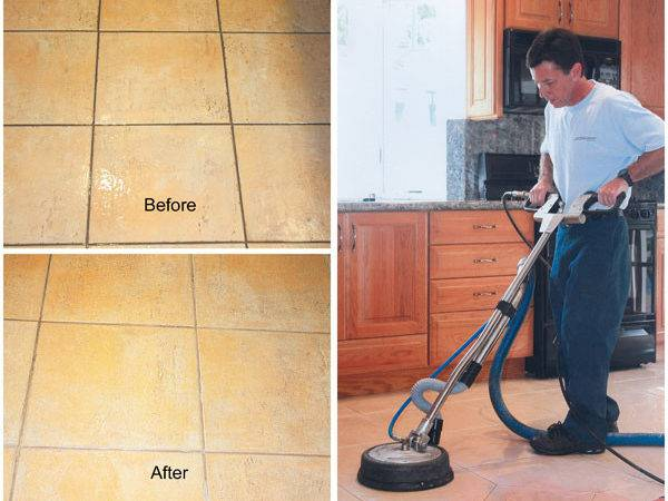 Grout Cleaning Tile Steam