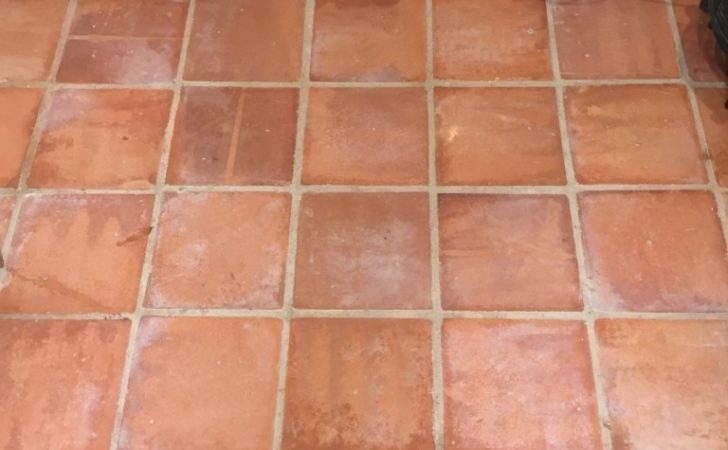 Grout Haze Removed New Terracotta Tiles Malvern Village
