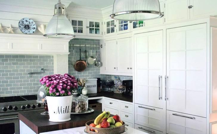 Grout Tile Backsplash Traditional Style Kitchen Fruit Bowl