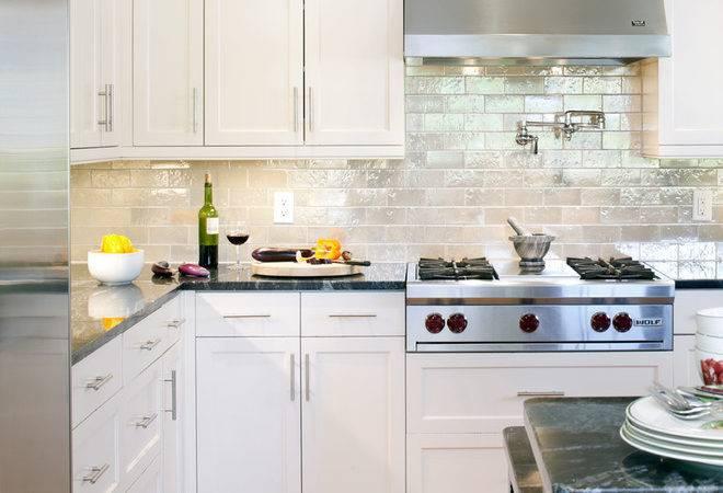 Grout Tile Backsplash Victorian Style Kitchen Wood Trim
