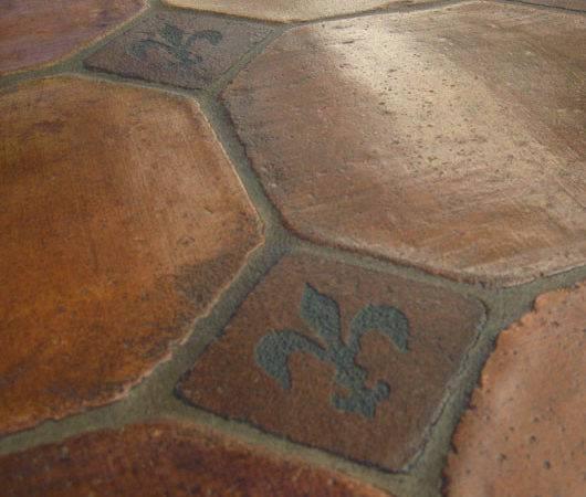 Grove Mexican Saltillo French Terracotta Tiles Hardwood Floors