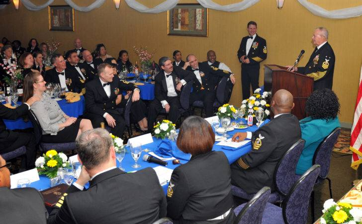 Guests During Chief Petty Officer Cpo Dining Out Event