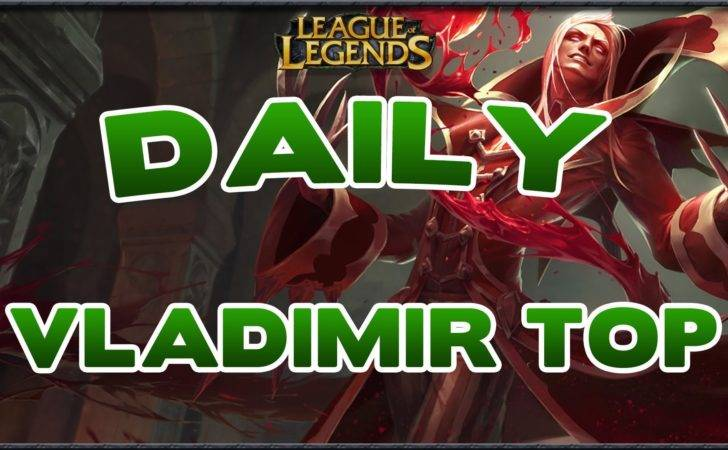 Guide Vladimir Solo Top Sur Lol Counters Build Youtube