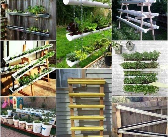 Gutter Garden Ideas Designs