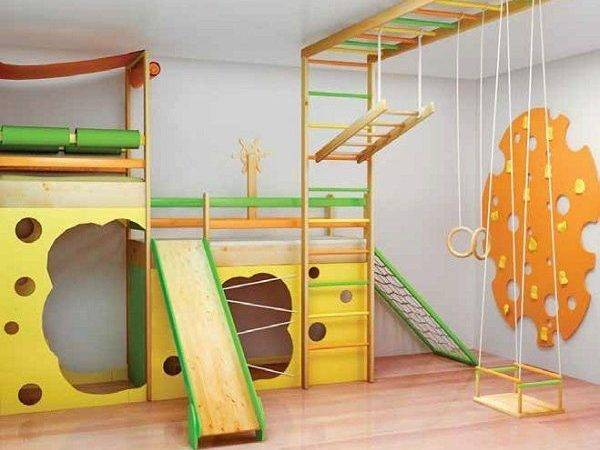Gym Kids Fitness Design Home Hangout Room Gyms