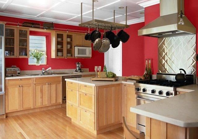 Gypsy Red Kitchen Orange Undertones