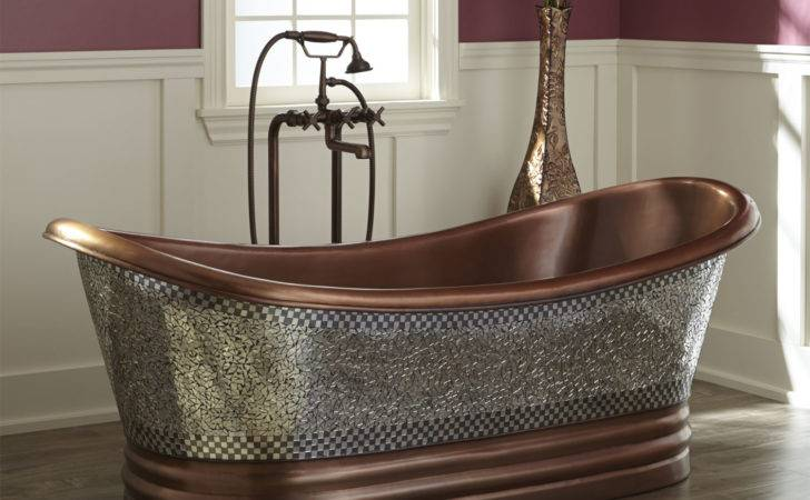 Hadrian Stone Double Slipper Tub Bathtubs Bathroom