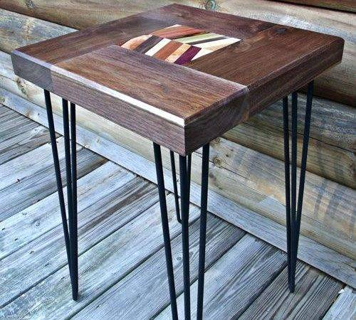 Hairpin Table Legs Colorful Diy Wood