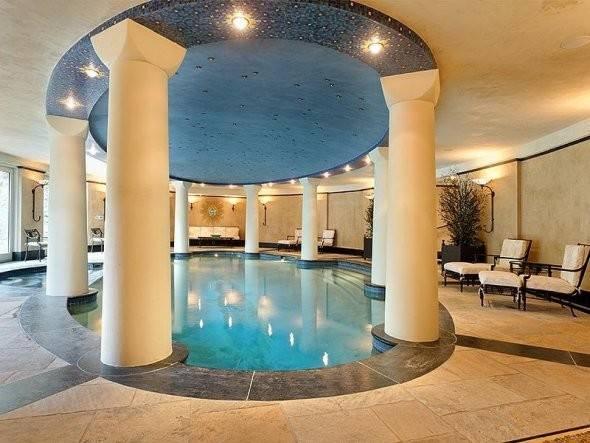 Half Baths Home Has Indoor Pool Hot Tub Spa Sauna