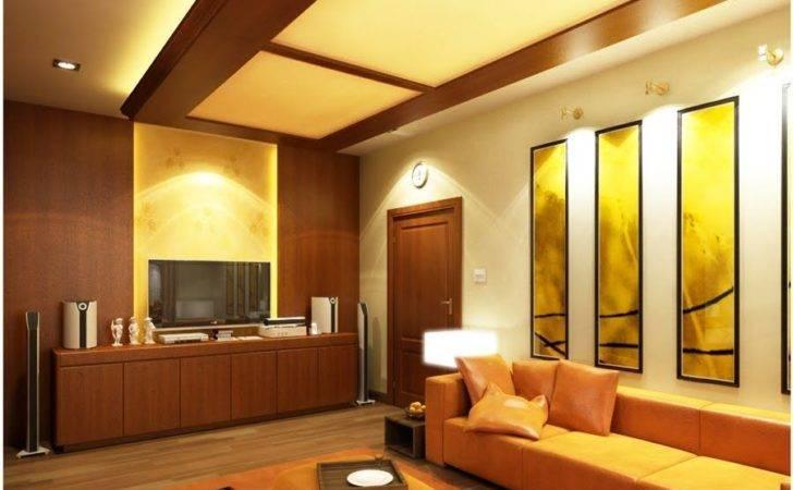 Hall Ceiling Homes Interiors Designs Interior Pop Design