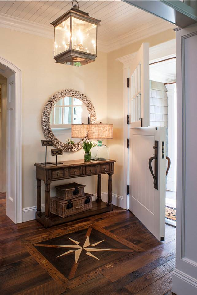 Hall Design Ideas Inlaid Compass Rose Sets