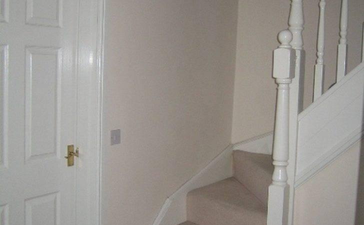 Hall Stairs Landing Red Carpet