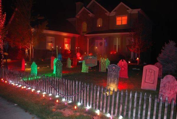 Halloween Porch Entryway Ideas Subtle Scary