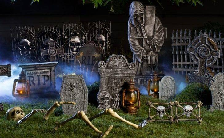Halloween Tombstones Cemetery Decorations Party City Canada