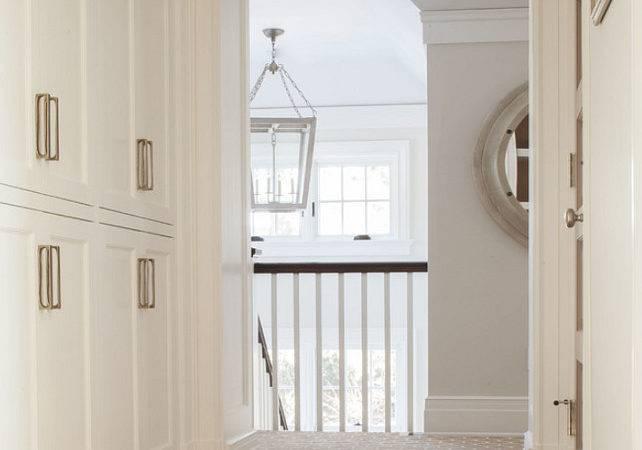 Hallway Linen Closet Built Cabinet Hallwaylinecloset