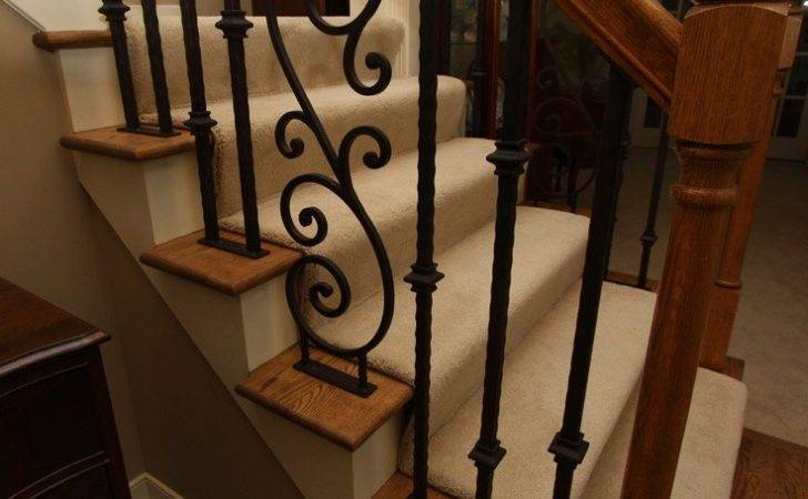 Hand Forged Iron Stair Railing Doors Pinterest