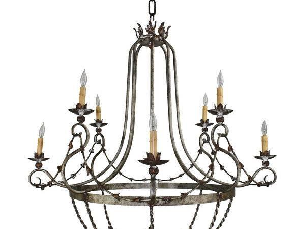 Hand Made Iron Chandelier Designs Mediterranean