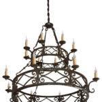 Hand Made Iron Chandelier Designs Mediterranean