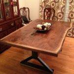 Hand Made Live Edge Dining Room Table Southern Wood Design