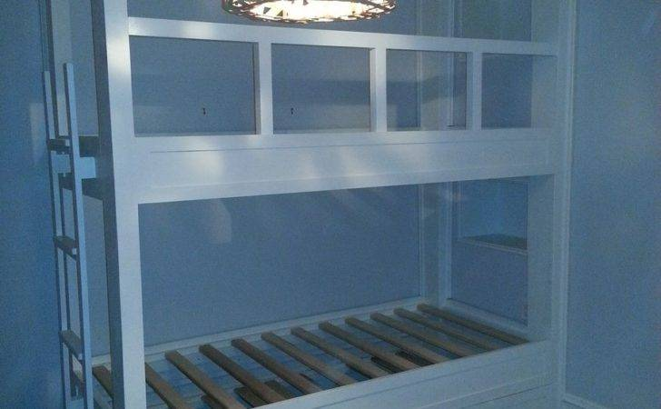Hand Made Twin Over Built Bunk Bed Pop Trundle Ajc