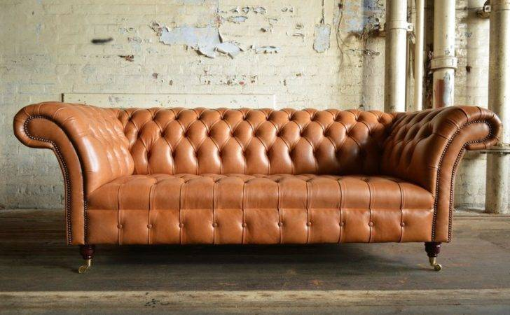 Handmade Chesterfield Sofa Couch Chair Seat Vintage