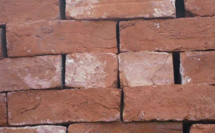 Handmade Red Reclaimed Bricks