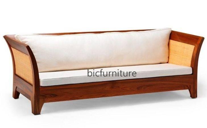 Handmade Teakwood Sofa Cane Available Set Bic