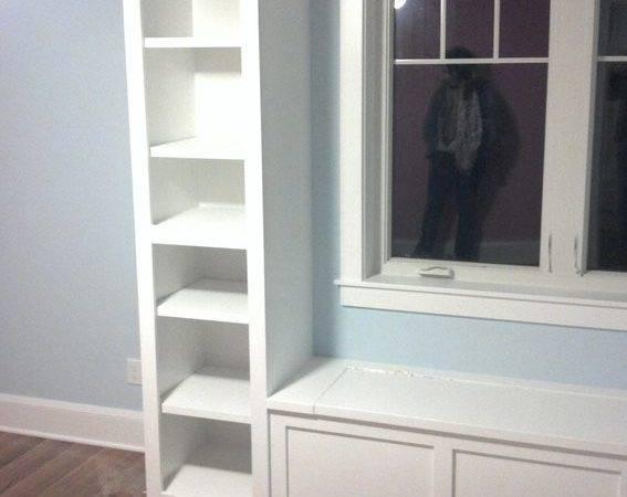 Handmade Window Seat Built Bookshelves Driscoll Custom