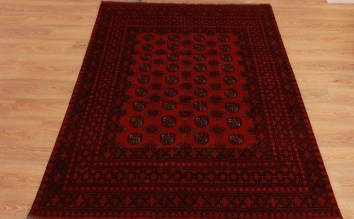 Handmade Wool Afghan Rug Large Timeless High End Persian Area Carpet