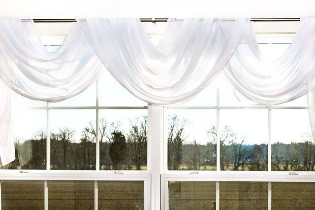 Hang Scarf Valance Over Curtains Curtain