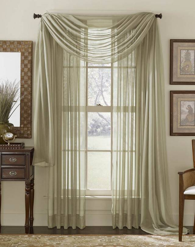 Hang Sheer Curtains Furniture Ideas Deltaangelgroup