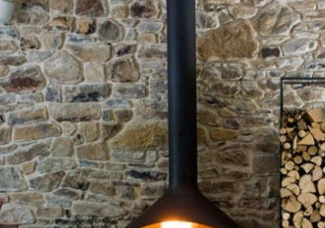 Hanging Fireplace Architecture Pinterest
