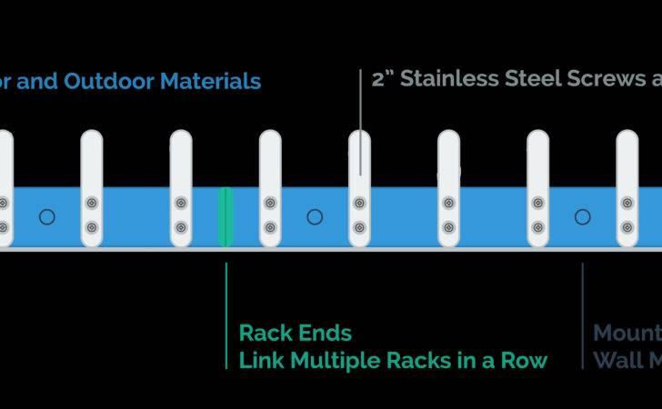 Hangsafe Racks Safety Coat Hooks