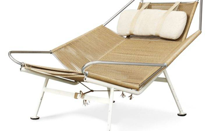 Hans Wegner Lounge Chair Flag Halyard Getama Denmark