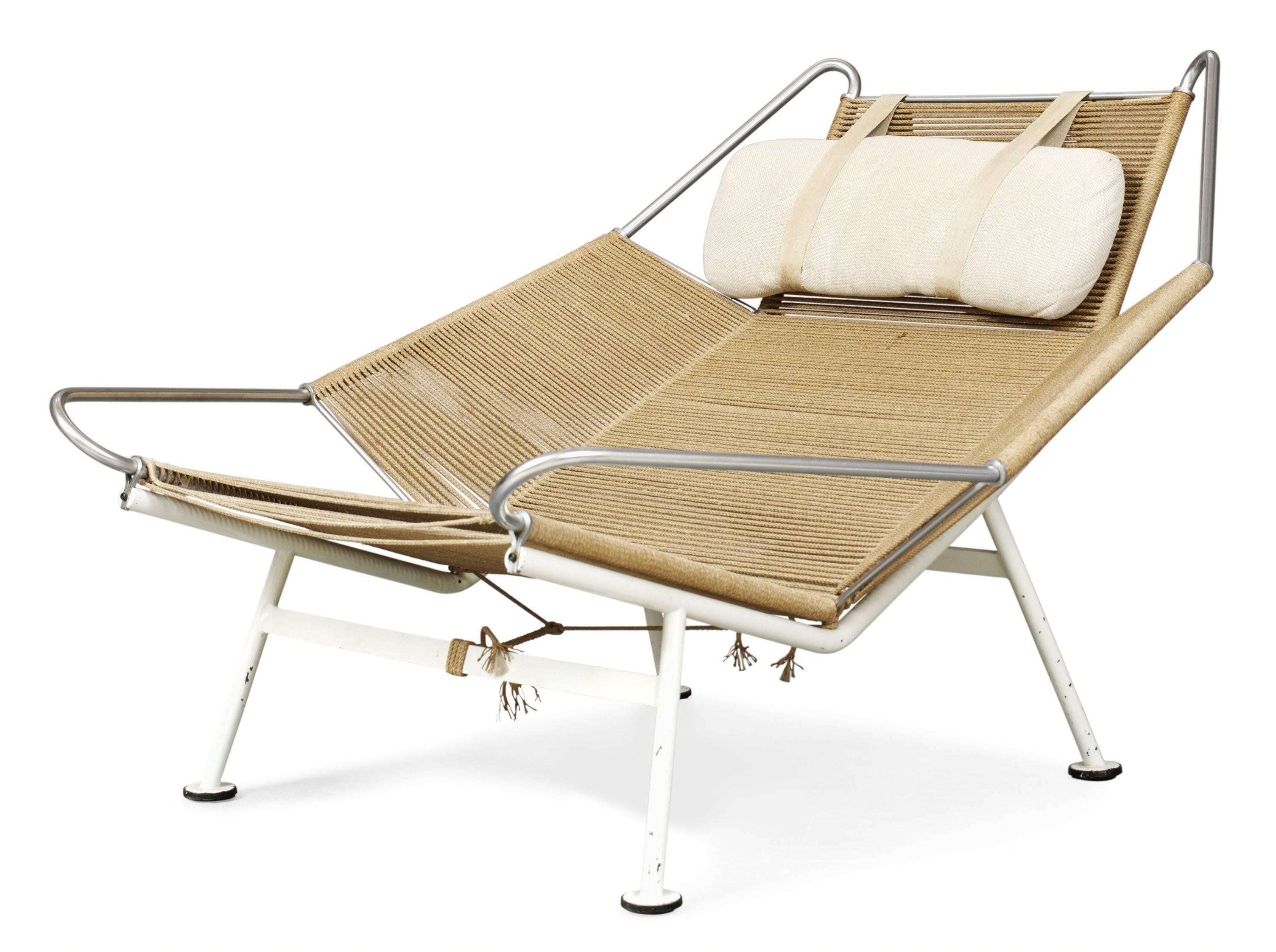 Hans Wegner Lounge Chair Flag Halyard Getama
