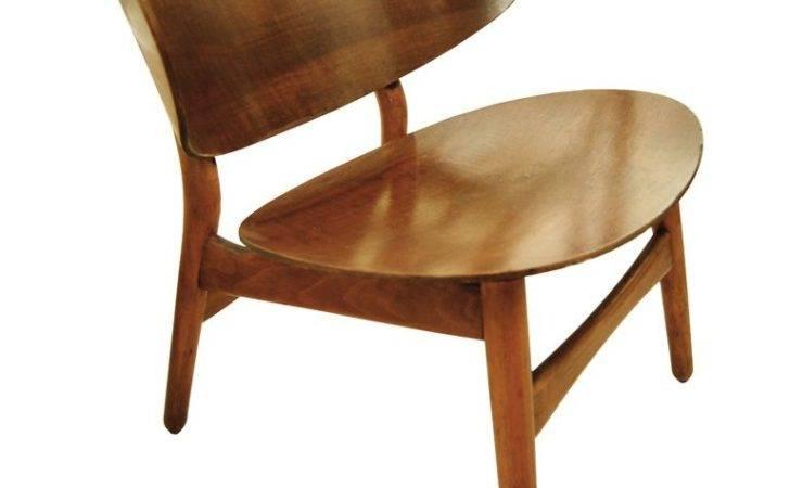 Hans Wegner Shell Chair Original Label Stdibs