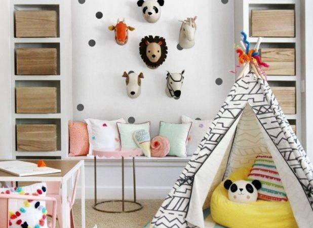 Happy Kids Playroom Ideas Little Girls Home