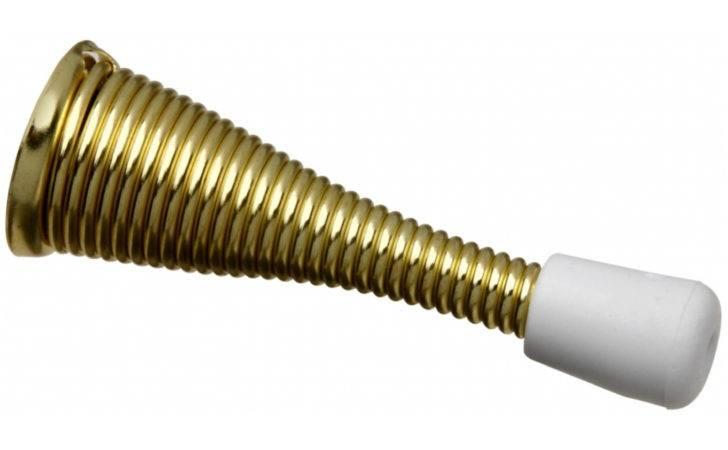 Hardware Count Bright Brass Heavy Duty Flexible Door Stop