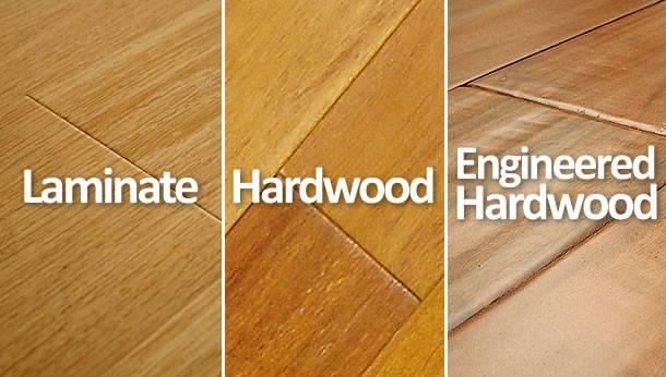 Hardwood Laminate Engineered Floors