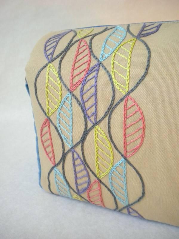 Harujion Design Modern Embroidery Messenger Shoulder Bag