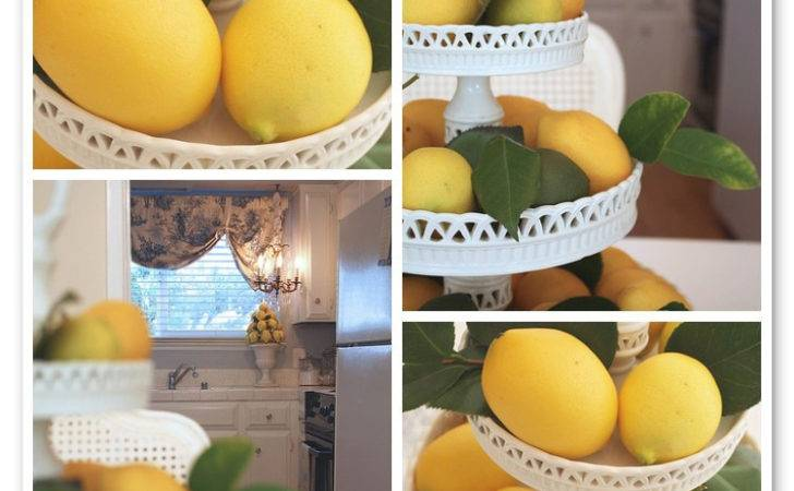 Have Ceramic Lemon Topiary Kitchen Love They Two