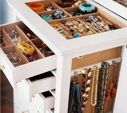 Have Jewelry Storage Armoire Like These Useful