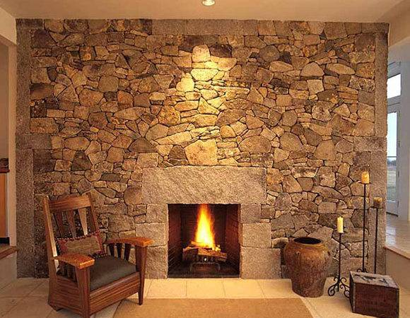 Have Open Closed Storage Sides Your Stone Fireplace