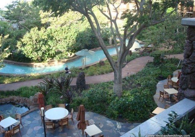 Hawaii Resorts Rivers Pools Forward Lazy River Outdoor Lounge