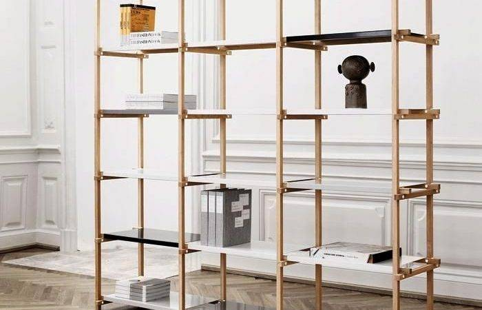 Hay Denmark Woody Shelving System Features Removable Shelves