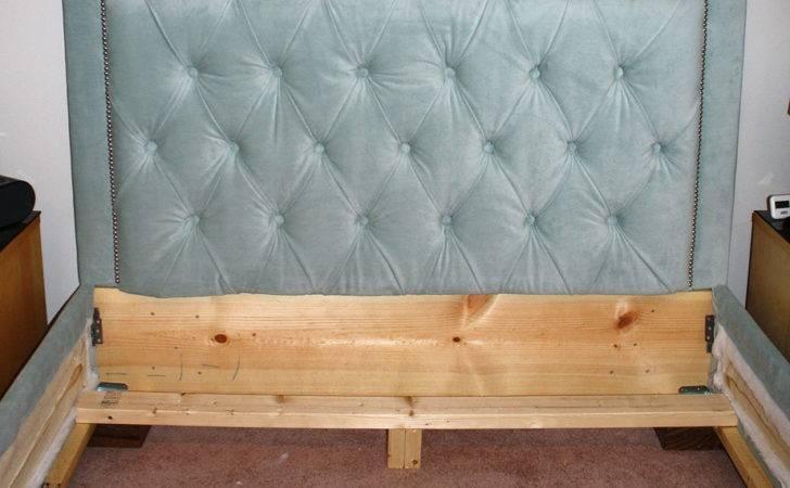Headboard Nailhead Trim Matching Bed Frame Diy Projects