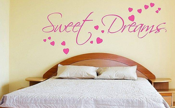 Headboard Wall Stickers Bedrooms Awesome Decal