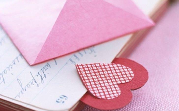 Heart Bookmark Diy Bookmarks